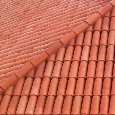 clay roof shingles