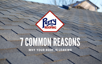 7 Common Reasons Why Your Roof is Leaking