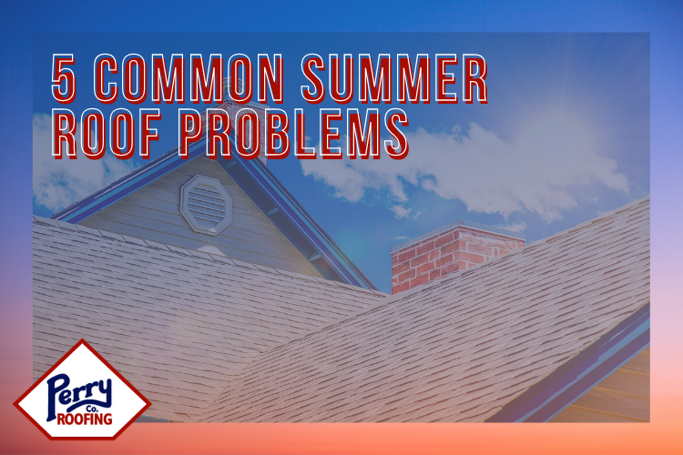 5 Common Summer Roof Problems