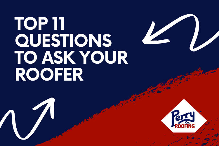 top, questions, ask roofer, roofing company, roof replacement, services, northwest arkansas