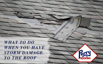 What to Do When You Have Storm Damage to the Roof