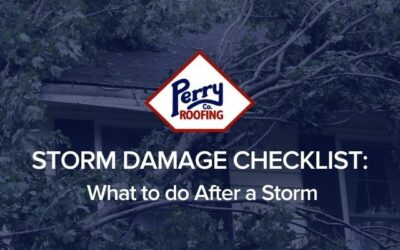 Storm Damage Checklist. What to do after a storm