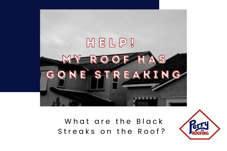 Help! My Roof Has Gone Streaking